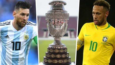 Photo of Copa America'da gruplar belli oldu