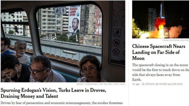 New York Times - Göç