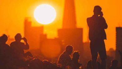Photo of İngiltere yanıyor: Londra'da tarihin en sıcak kışı