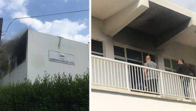Photo of Gazimağusa Meslek Lisesi'nde yangın çıktı!