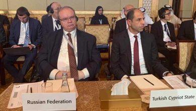 Photo of Özersay Abu Dhabi'de İİT Dışişleri Bakanları Konsey toplantısında