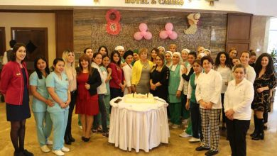 Photo of Emekçi kadınlara jest