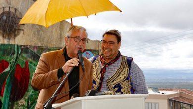 Photo of Cumhurbaşkanı Akıncı, eşi Meral Akıncı ile birlikte, 15. Tepebaşı (Yorgoz) Lale Festivali'nin açılışına katıldı
