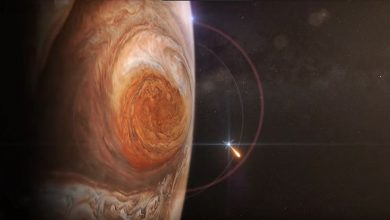 Photo of Juno uydusu Jüpiter'in 'Büyük Kırmızı Leke'sini fotoğrafladı