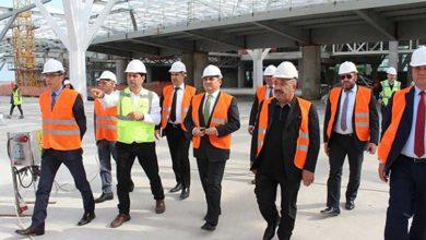 Photo of Başçeri, Ercan Havalimanı'nda yeni terminal inşaatını inceledi