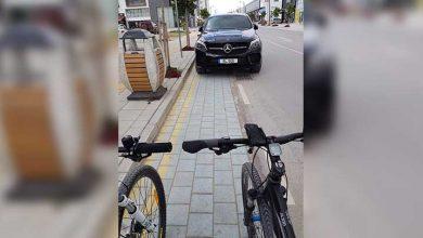 Photo of Bisiklet yoluna parka büyük tepki