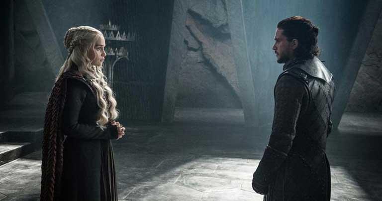 Daenerys Targaryen ve Jon Snow