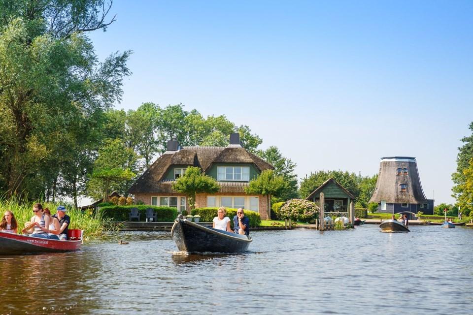 Hollanda Giethoorn köyü