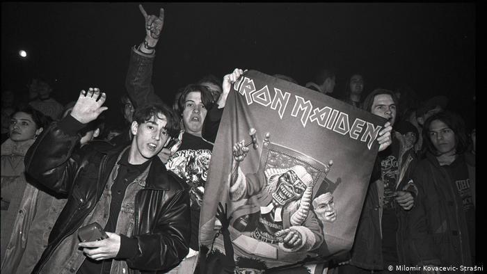 Iron Maiden Saraybosna konseri -14 Aralık 1994