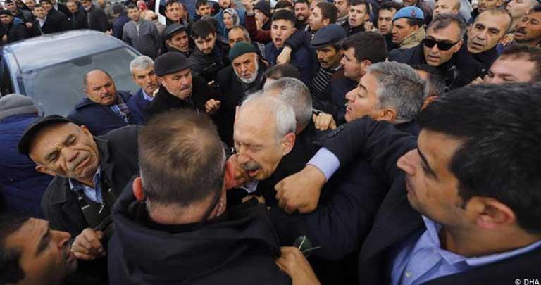 Kemal Kılıçdaroğlu saldırı
