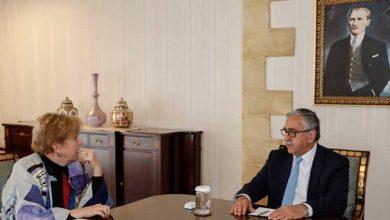 Photo of Cumhurbaşkanı Akıncı, Lute ile telefon görüşmesi yaptı