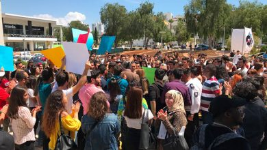 Photo of Doğu Akdeniz Üniversitesi öğrencileri yapılan zamları protesto etti