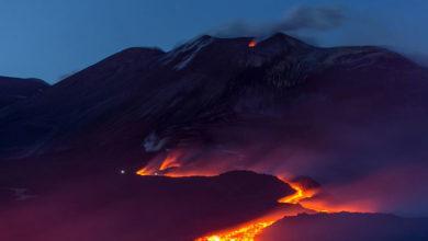 Photo of Etna yanardağı aktif duruma geçti