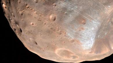 Photo of Mars'ın dolunayı ilk kez görüntülendi