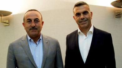 Photo of Meclis Başkanı Uluçay, Mekke'de TC Dışişleri Bakanı Çavuşoğlu ile görüştü