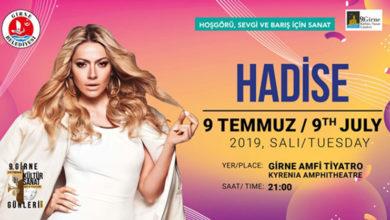 Photo of 9. Girne Kültür Sanat Günleri, 9 Temmuz'da Hadise konseriyle devam edecek