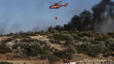 Photo of Güneyde yangınlar için üçüncü helikopter kiralanıyor