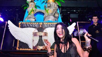 """Photo of Hande Yener, Girne'de  """"Kuş"""" olup kanatlandı"""