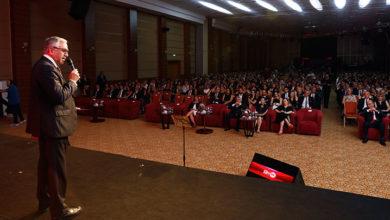 """Photo of Cumhurbaşkanı Akıncı, Limasol Türk Kooperatif Bankası'nın """"80. Gurur Yılı Gala Gecesi""""ne katıldı"""