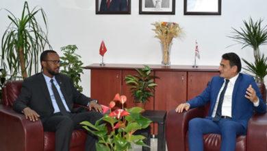 Photo of Bakan Oğuz, Somali Tarım Bakanı Lid ile görüştü