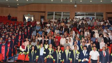 Photo of YDÜ İnşaat Fakültesi mezunları diplomalarını aldı