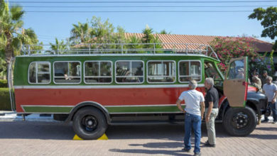 Photo of 'Direniş otobüsü' Baf'a geri döndü