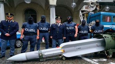 Photo of İtalya'da neo-Nazi gruplara yönelik bir operasyonda füze ele geçirildi