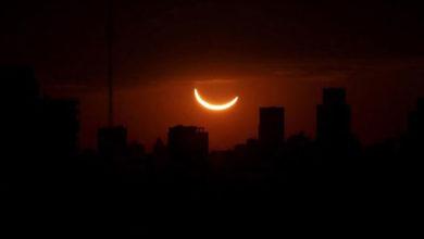 Photo of Dünya güneş tutulmasına kilitlendi