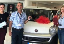 Photo of Kombos Fiat çekiliş aracı teslim edildi