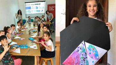 """Photo of """"Çocuk Atölyesi"""" kursu sergisi 31 Temmuz'da açılacak"""