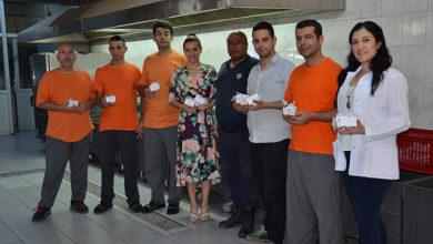 Photo of PGC Catering Ailesi'nden mahkumlara bayram kutlaması