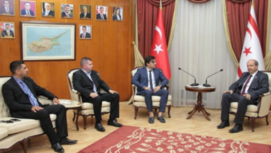 Photo of Başbakan Tatar, Kuzey Kıbrıs Genç İşadamları Derneği yetkililerini kabul etti