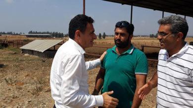 Photo of Tarım Bakanı, Doğancı ve Güneşköy'deki üreticilerle görüştü