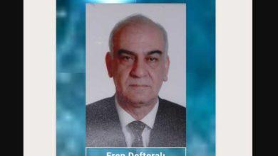Photo of Eren Defteralı'yı kaybettik