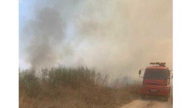 Photo of Arazideki yangın Lefkoşa'yı elektriksiz bıraktı