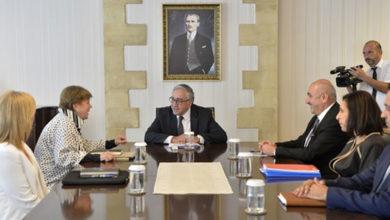 Photo of Cumhurbaşkanı Akıncı'nın Lute ile görüşmesi tamamlandı