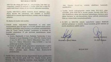 Photo of El-Sen ile Hükümet arasında imzalanan protokol metni