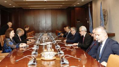Photo of Cumhurbaşkanı Akıncı'nın Guterres ile görüşmesi sona erdi