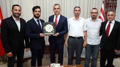 Photo of Uluçay, KTSYD yönetimi ile görüştü