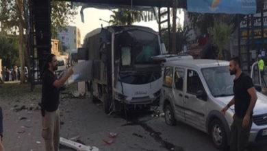 Photo of Adana'da polis servisine bombalı saldırı