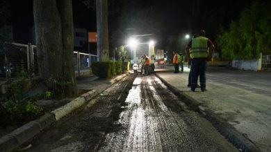 Photo of Lefkoşa'da iki caddede asfalt çalışması başladı