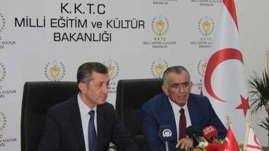 Photo of Bakan Çavuşoğlu, Ziya Selçuk ile bir araya geldi