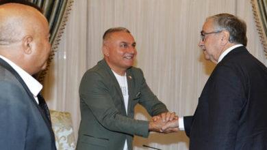 Photo of Cumhurbaşkanı Mustafa Akıncı, Doğayı ve Canlıyı Koruma Derneği heyetini kabul etti