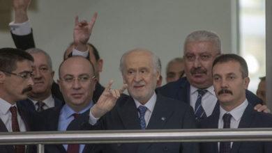 Photo of Bahçeli'den 21 gün sonra ilk görüntü