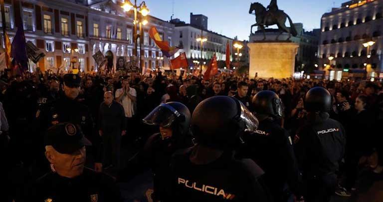 Katalonya, İspanya, gösteri