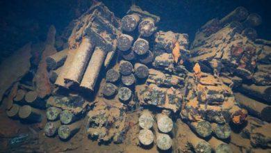 Photo of RMMO'nun eski mühimmatları denizin dibinde