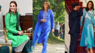 Photo of Kate Middleton, Pakistan gezisinde yerel çizgiler kullandı