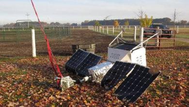 Photo of Samsung'un 'SpaceSelfie' aracı bir evin bahçesine düştü