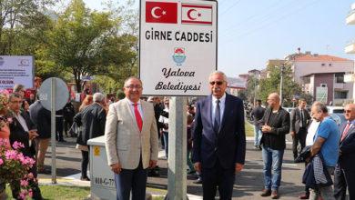 Photo of Denktaş Büstü ve Girne Caddesi açılışı yapıldı