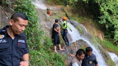 Photo of Fransız turist, Tayland'da şelalede selfie çekerken 80 metre aşağı düşerek öldü